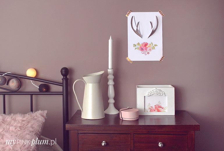 romantyczna dekoracja diy