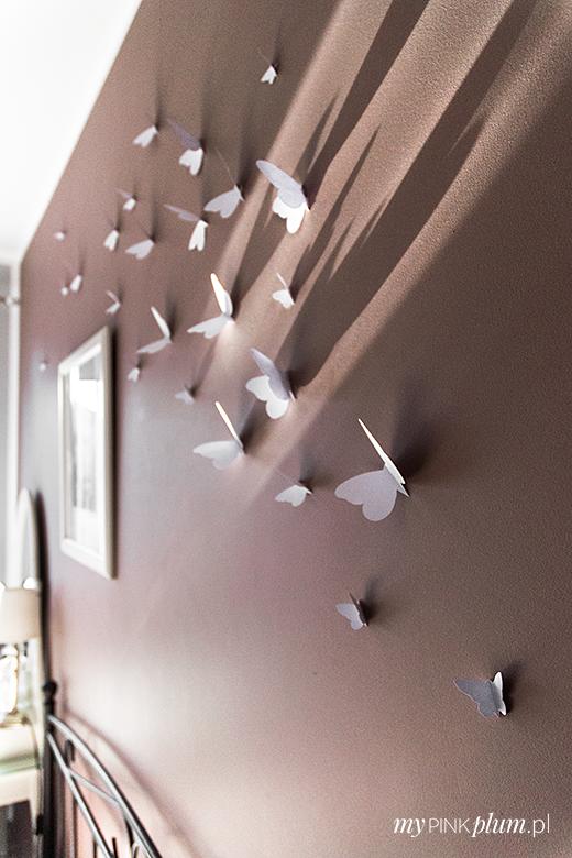Diy Dekoracja ściany W 3d Sypialnia W Stylu Gossip Girl